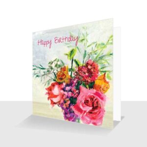 Still Life Flowers Cards
