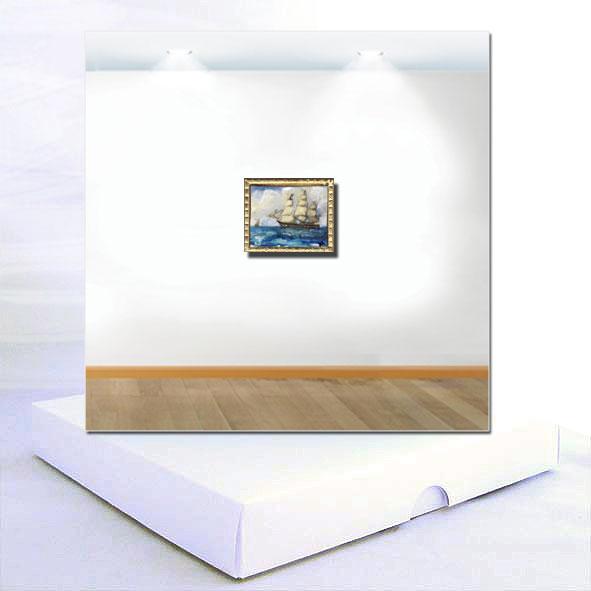 Full Sail Miniature Painting Boxed Card