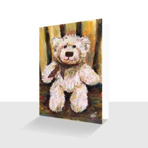 Teddy Portraits Greeting Cards