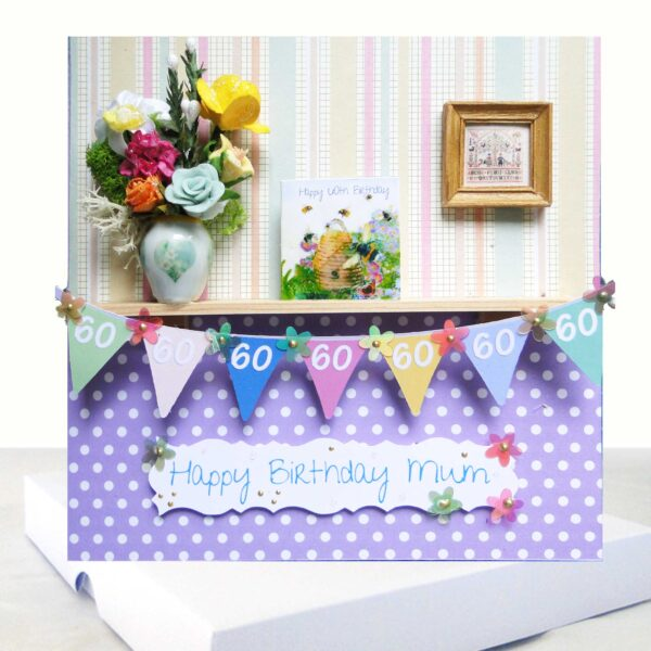 Happy Birthday Mum 60th Birthday Card