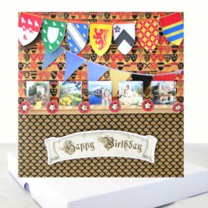 History Lovers Boxed Birthday Card