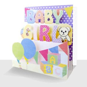 New Baby Girl Card