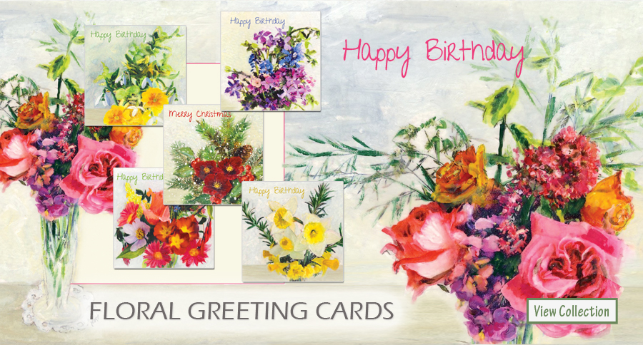 Floral Greetings Cards