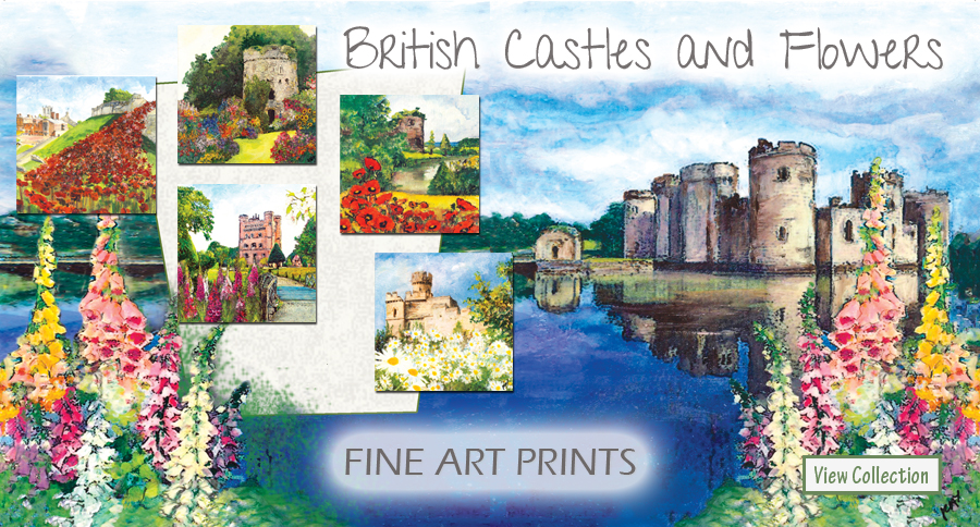 Castles Greetings Cards