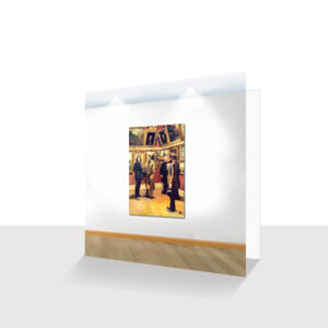 The Art Gallery Greeting Cards