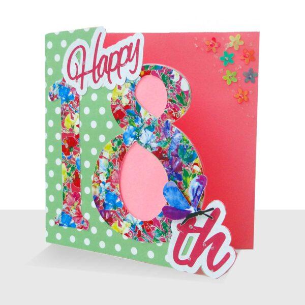18th-birthday-card handmade