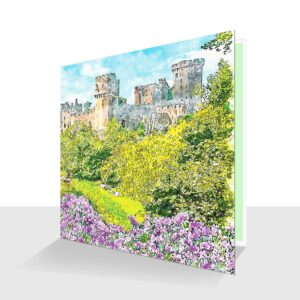 Warwick Castle Greeting Card