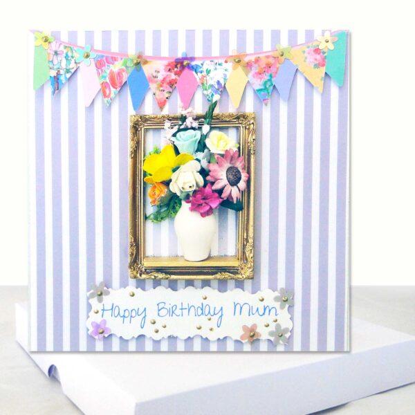 Happy Birthday Mum Boxed Card