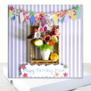 Extra Special Floral Happy Birthday Mum Boxed Card