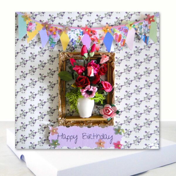 Extra Special Floral Birthday Card Boxed Card