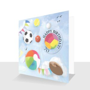 70th-Happy Birthday-card