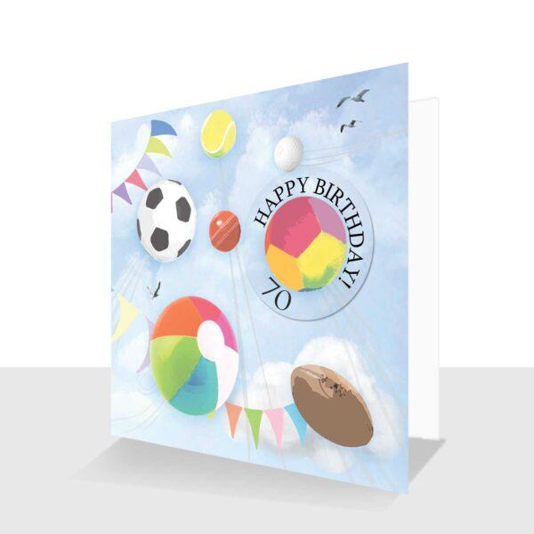 70th-Happy Birthday-card