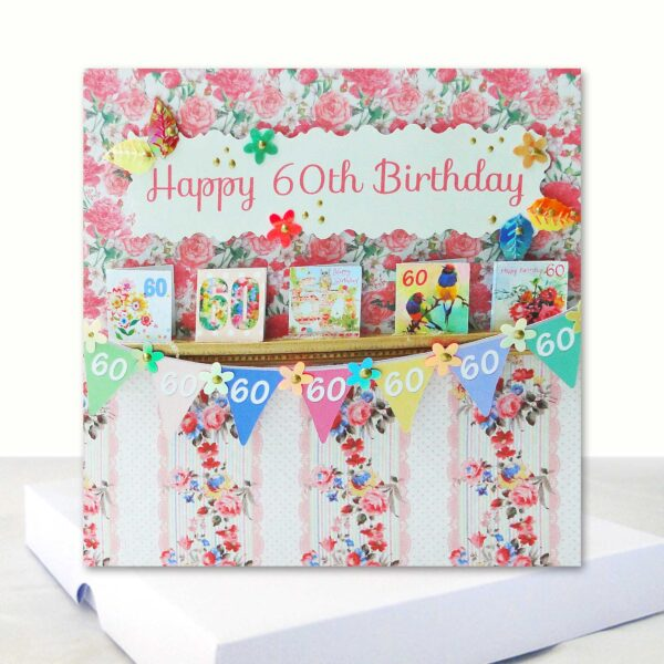 Luxury Happy 60th Birthday Boxed Ca