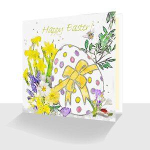 Happy Easter Card Easter Egg