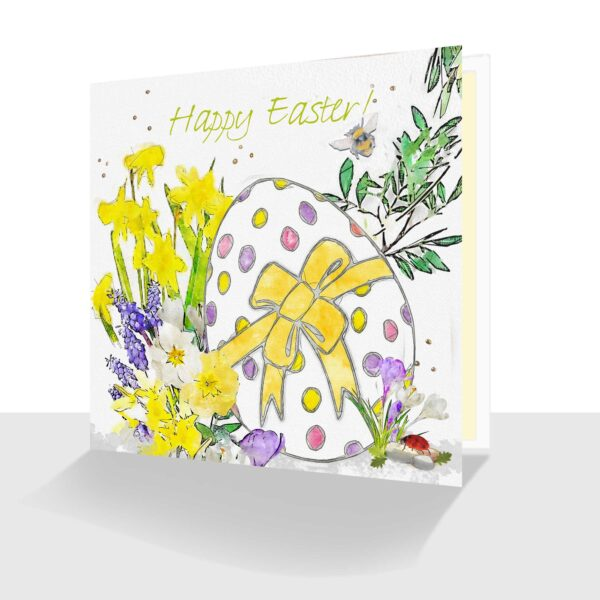 Happy Easter Card Easter Egg