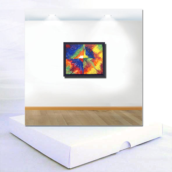 Colour Studies : Miniature Modern Art Boxed Greeting Card
