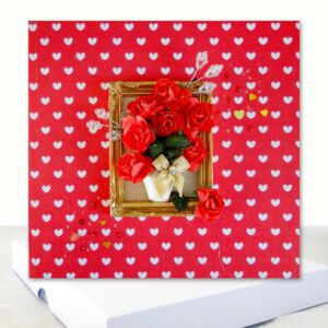 Red Roses all occasion love card